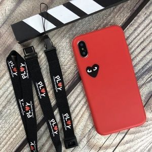 Accessories - IPHONE CDG Silicone Case with Landyard